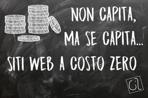 Non capita, ma se capita - Siti web a costo zero